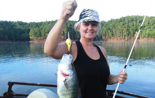 Bobs fishing guide tour services broken bow lake for Broken bow lake fishing